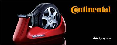 continental sticky tires - garage Cuypers